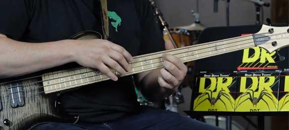 DR Strings Bassnaren