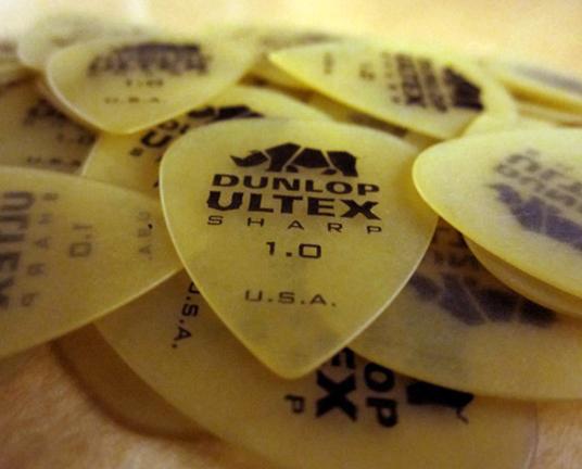 Dunlop Ultex Plectrums