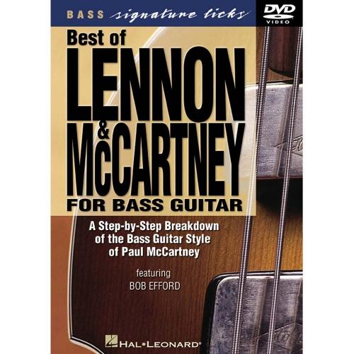 Bass Signature Licks: Best of Lennon & McCartney Instructie DVD OP=OP