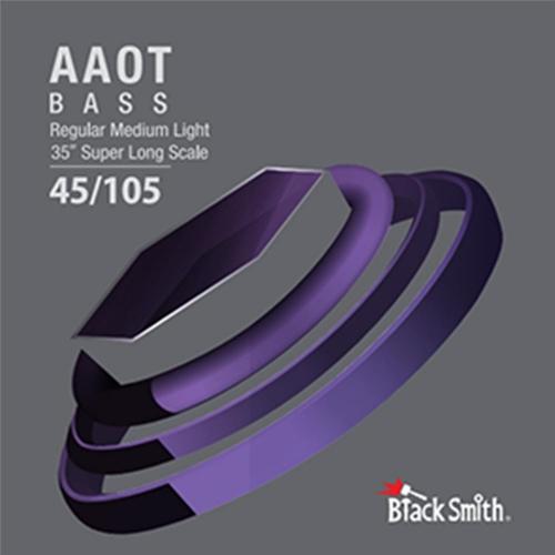 BlackSmith EEAB45100 Nickel Round Wound Bassnaren (45-100)