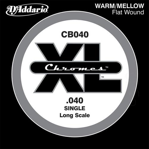 D'Addario CB040 Chromes Flatwound Losse Bassnaar .040