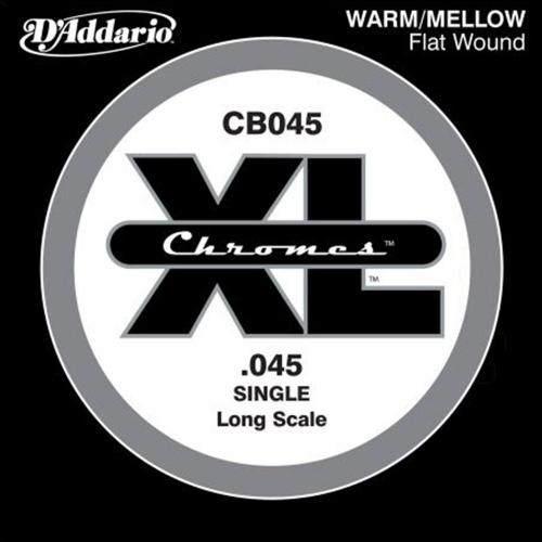 D'Addario CB045 Chromes Flatwound Losse Bassnaar .045