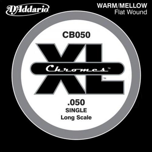 D'Addario CB050 Chromes Flatwound Losse Bassnaar .050