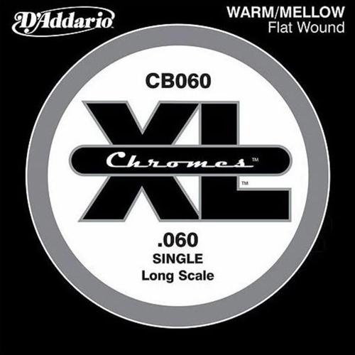 D'Addario CB060 Chromes Flatwound Losse Bassnaar .060