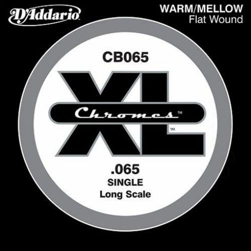 D'Addario CB065 Chromes Flatwound Losse Bassnaar .065