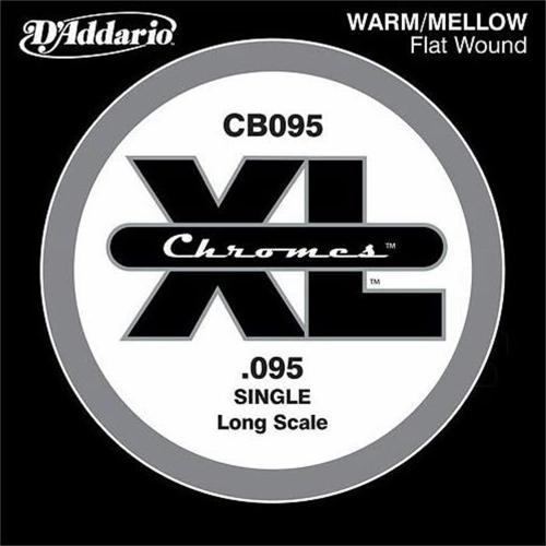 D'Addario CB095 Chromes Flatwound Losse Bassnaar .095