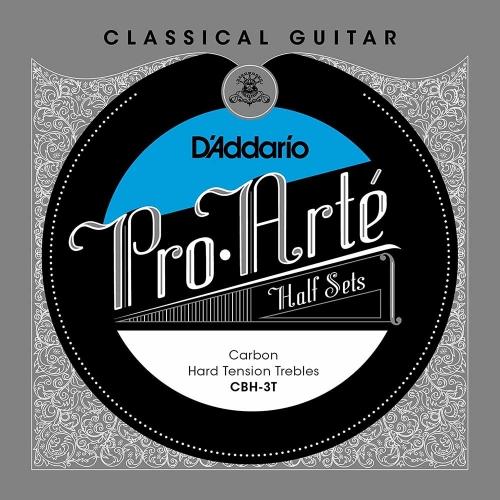 D'Addario CBH-3T Pro Arté Half Set Treble (3 snaren) Voor Klassieke Gitaar