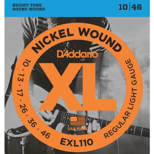 D'Addario EXL110 snaren
