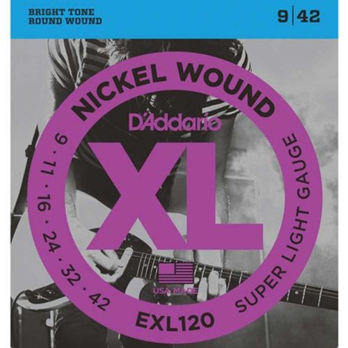 D'Addario EXL120 snaren