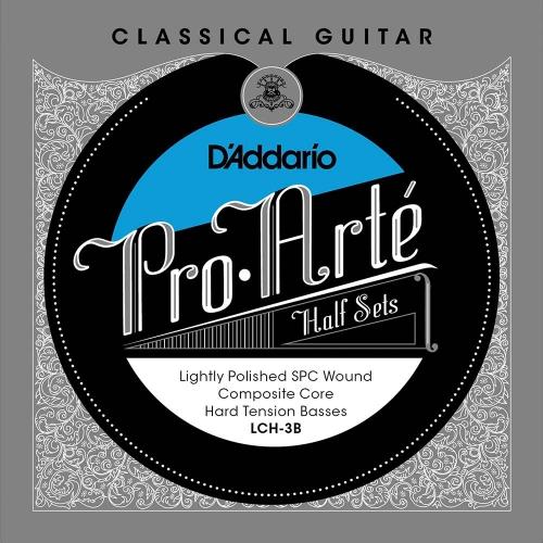 D'Addario LCH-3B Bass Set Lightly Polished - Hoge Spanning
