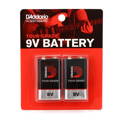 D'Addario PW-9V-02 9V-Batterijen 2-Pack