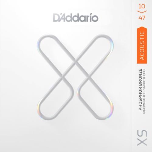 D'Addario XSAPB1047 Gecoate Akoestische Gitaarsnaren (10-47)