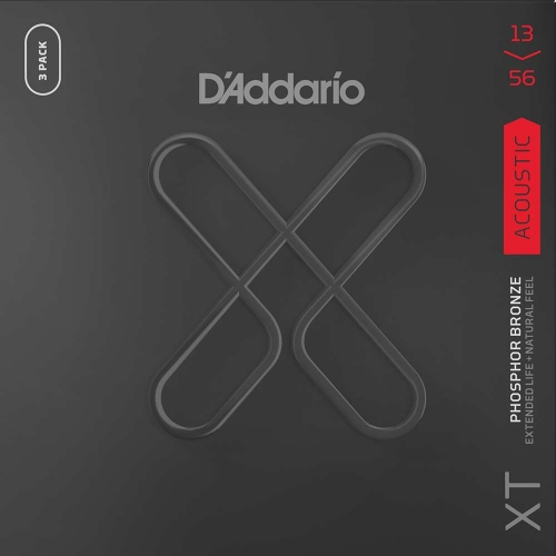 D'Addario XTAPB1356-3P Akoestische Gitaarsnaren (13-56) 3-Pack