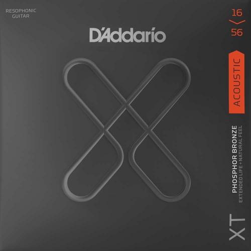 D'Addario XTAPB1656 Dobro/Resonator Snaren (16-56)