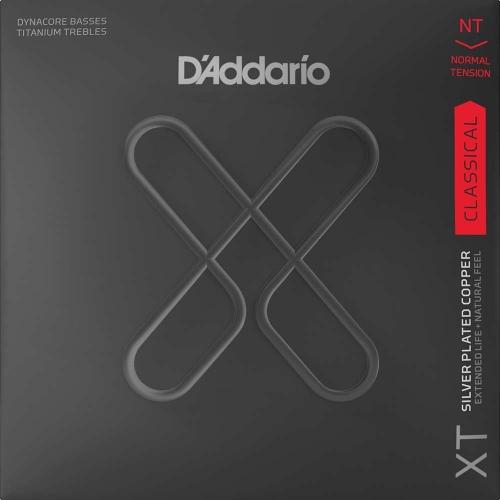 D'Addario XTC45TT Dynacore Titanium Klassieke Gitaarsnaren - Normale Spanning