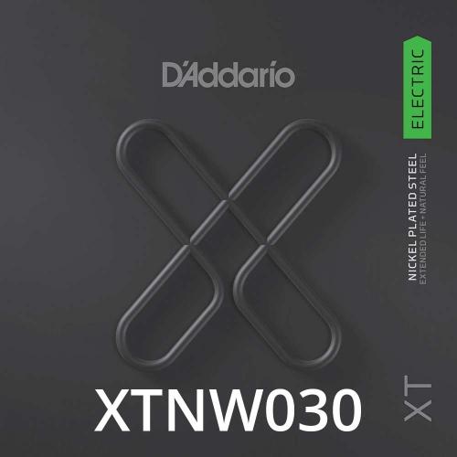 D'Addario XTNW030 XT Nickel Wound Losse Elektrische Snaar .030
