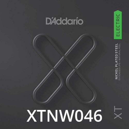 D'Addario XTNW046 XT Nickel Wound Losse Elektrische Snaar .046