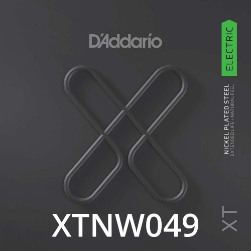 D'Addario XTNW049 XT Nickel Wound Losse Elektrische Snaar .049