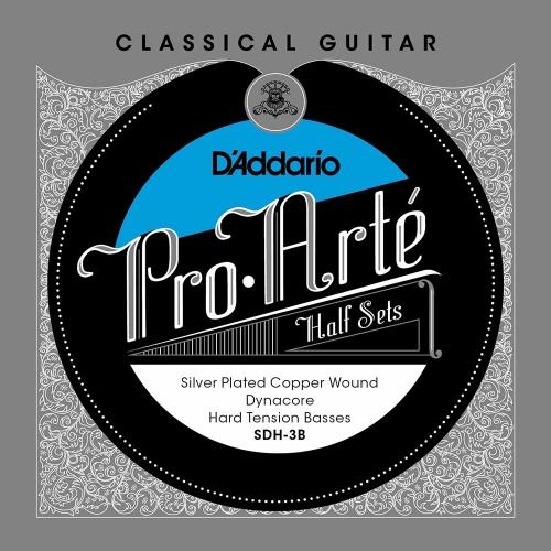 D'Addario CGH-3T Pro Arté Half Set Treble (3 snaren) Voor Klassieke Gitaar
