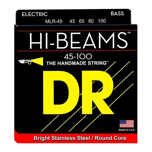 DR Strings MLR45 Hi-Beam Bassnaren (45-100)