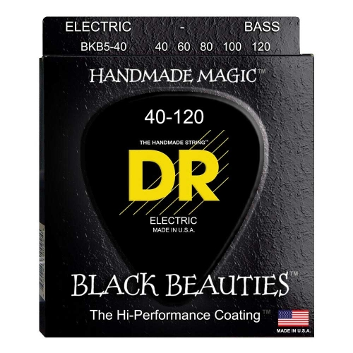 DR Strings BKB5-40 Bassnaren