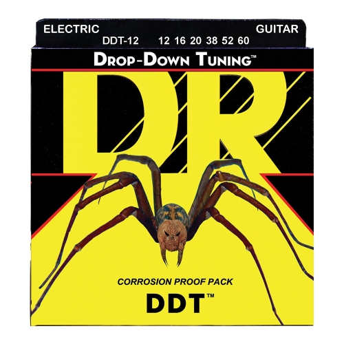 DR Strings DDT12 Drop Down Tuning Snaren (12-60)