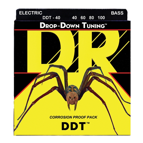 DR Strings DDT40 Drop Tuning Bassnaren (40-100)