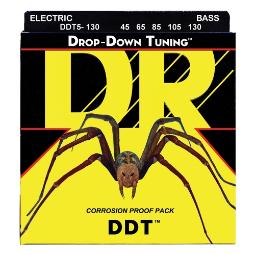 DR Strings DDT5-130 Drop Down Tuning Bassnaren (45-130)