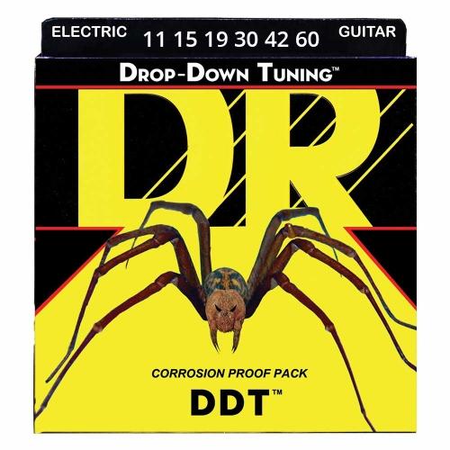 DR Strings DDTC111346 Drop Down Tuning Elektrische Snaren (11-60) Custom Set
