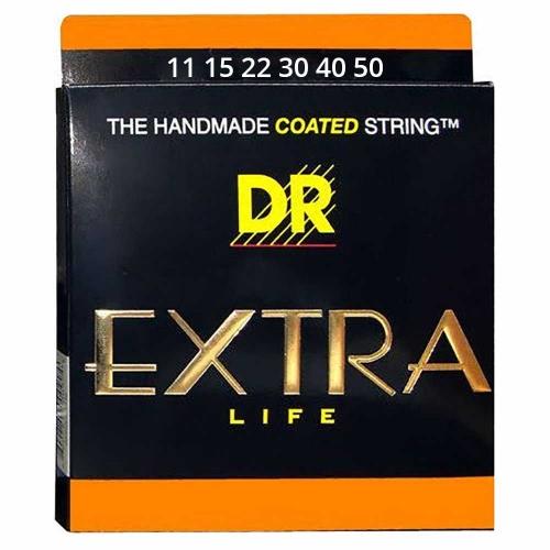 DR Strings EXR11 Extra-Life Akoestische Snaren (11-50) Coated