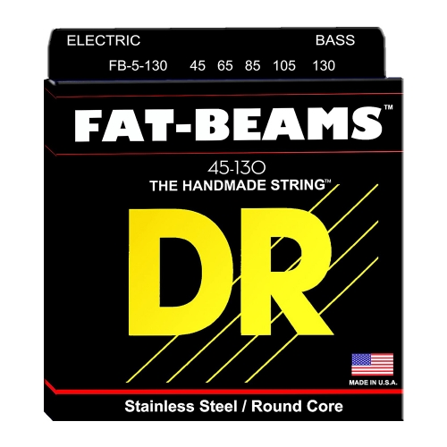 DR Strings FB5-130 Fat Beams Bassnaren 5-Snarig (45-130)