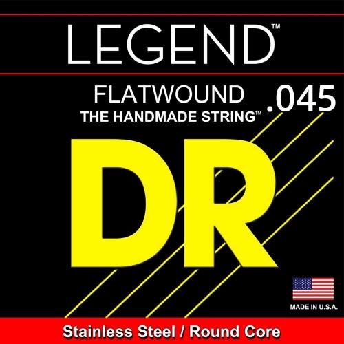 DR Strings FL045 Losse Flatwound Bassnaar .045