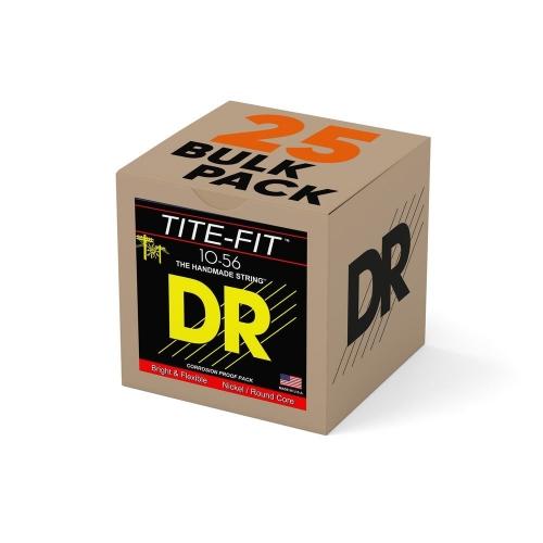 DR Strings JH10 Tite-Fit Elektrische Snaren Bulk 25-Pack