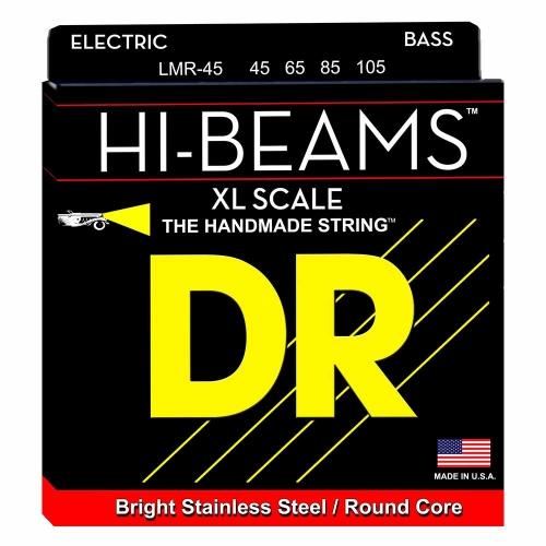 DR Strings LMR45 Super Long Scale Hi-Beam Bassnaren (45-105)