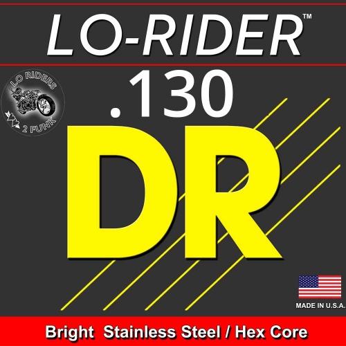 DR Strings LRBSH130 LoRider Losse Bassnaar .130 Low B