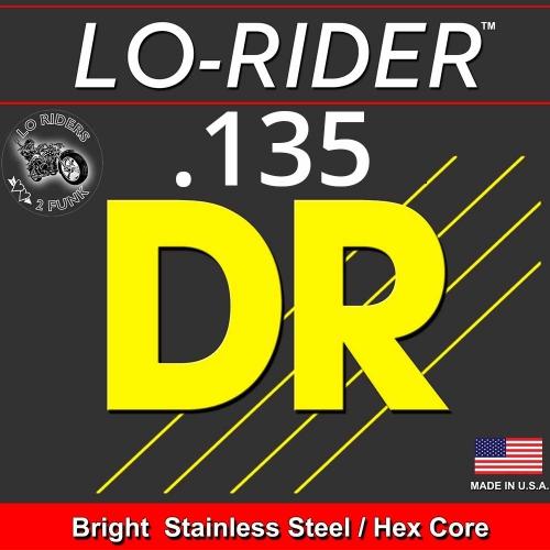 DR Strings LRBSH135 LoRider Losse Bassnaar .135 Low B