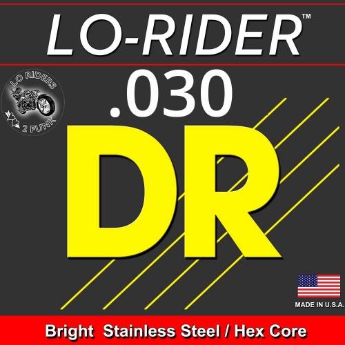 DR Strings LRBSH30 LoRider Losse Bassnaar .030 High C