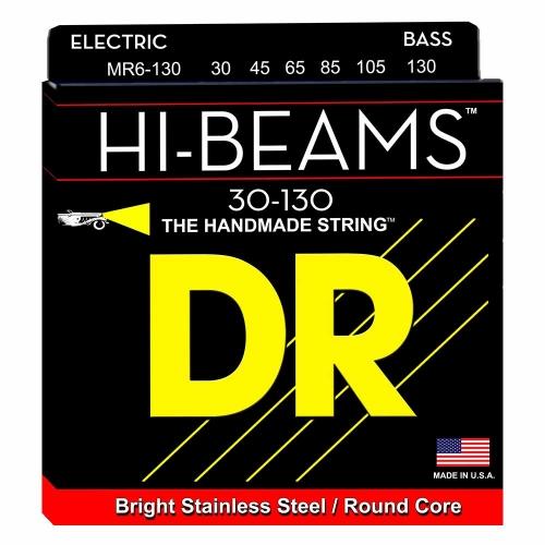 DR Strings MR6-130 Hi Beam Bassnaren 6-Snarig (30-130)