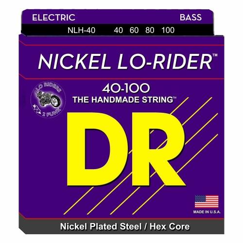 DR Strings NLH40 Nickel Lo-Rider Bassnaren (40-100)