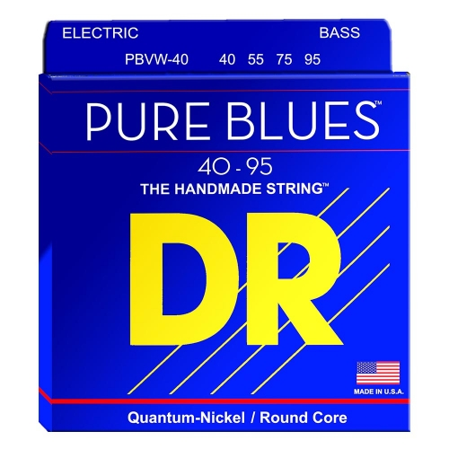 DR Strings PBVW-40 Pure Blues Bassnaren (40-95) Victor Wooten Signature