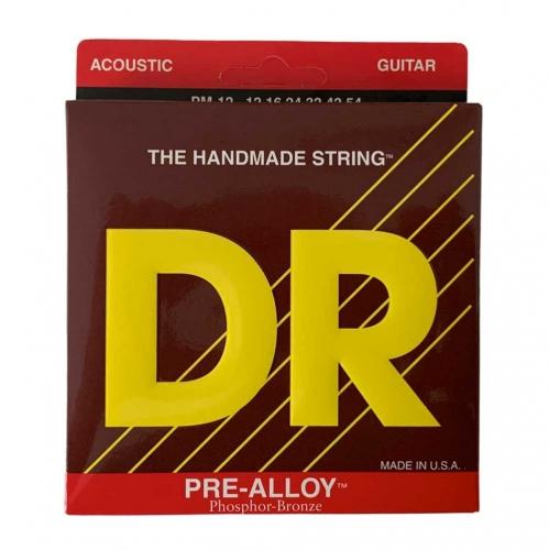 DR Strings PM12 Pre-Alloy Akoestische Snaren (12-54) Phosphor Bronze - Aanbieding