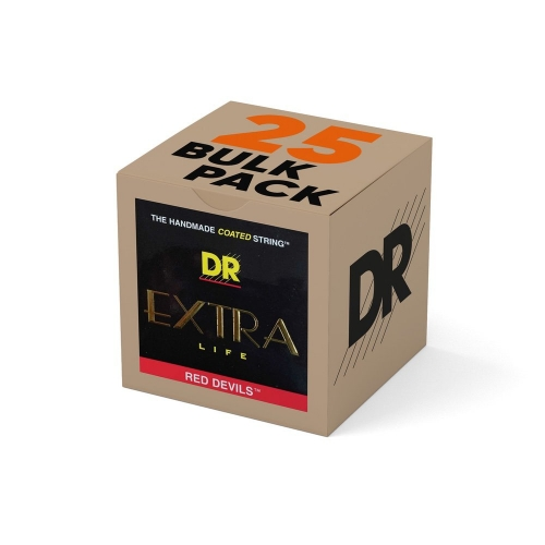 DR Strings RDE11 Red Devils Elektrische Snaren Bulk 25-Pack