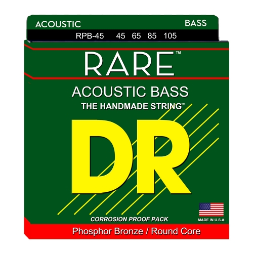 DR Strings RPB45 Rare Akoestische Bassnaren (45-105)