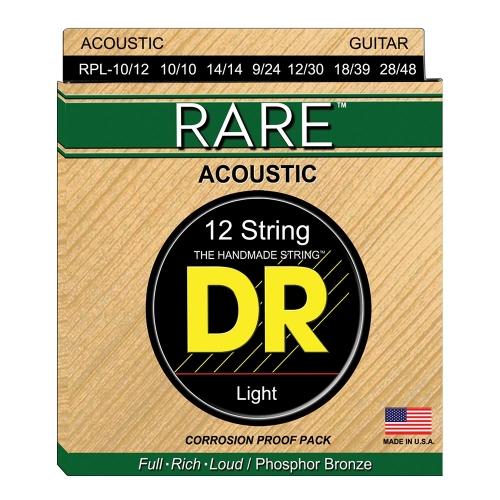 DR Strings RPL1012 Rare Westernsnaren 12-Snarig (10-48)