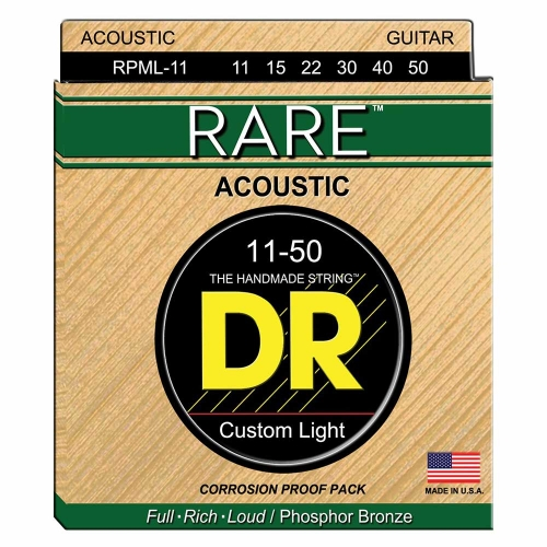 DR Strings RPML11 Rare Akoestische Snaren (11-50)