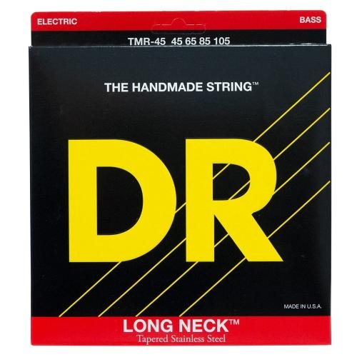 DR Strings TMR-45 Long Necks Tapered Bassnaren (45-105)