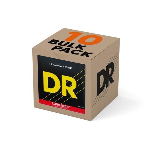 DR Strings TMR45 Long Necks Tapered Bassnaren Round Core Bulk 10-Pack