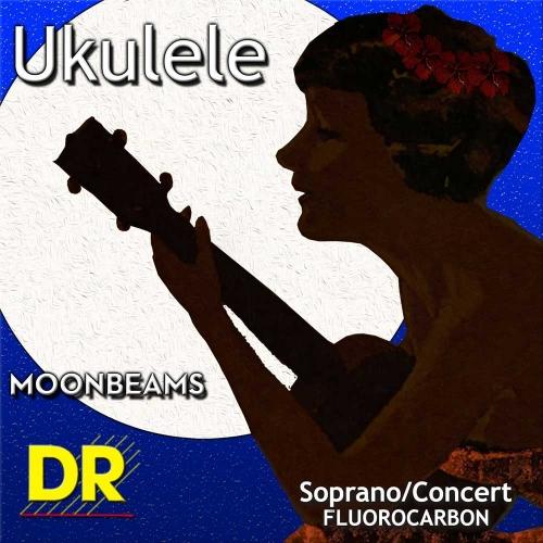 DR Strings UFSC Moonbeams Sopraan/Concert Ukulele Snaren (Fluorocarbon)