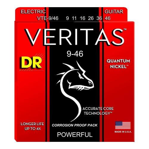 DR Strings VTE9/46 Veritas Elektrische Gitaarsnaren (9-46)