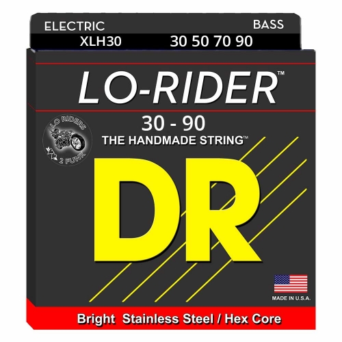 DR Strings XLH30 Lo-Rider Bassnaren (30-90)